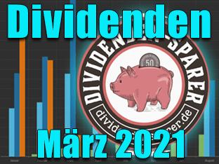 Dividenden März 2021