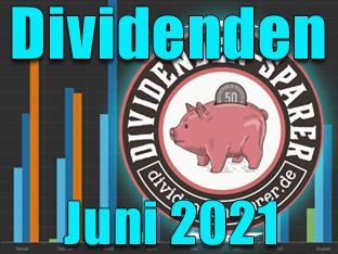 Dividendenernte Juni 2021