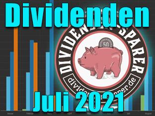 Dividendenernte Juli 2021