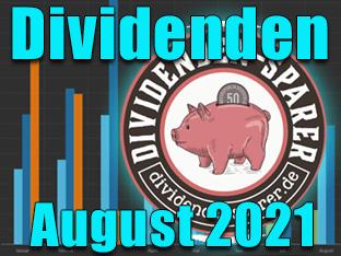 Dividendenernte August 2021